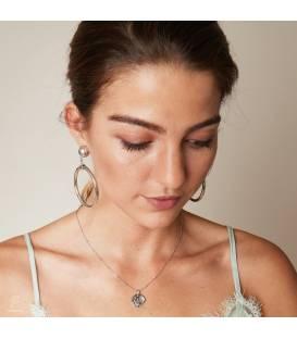 Goudkleurige oorclips