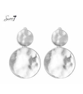 Mooie zilverkleurige oorclips van Sweet7